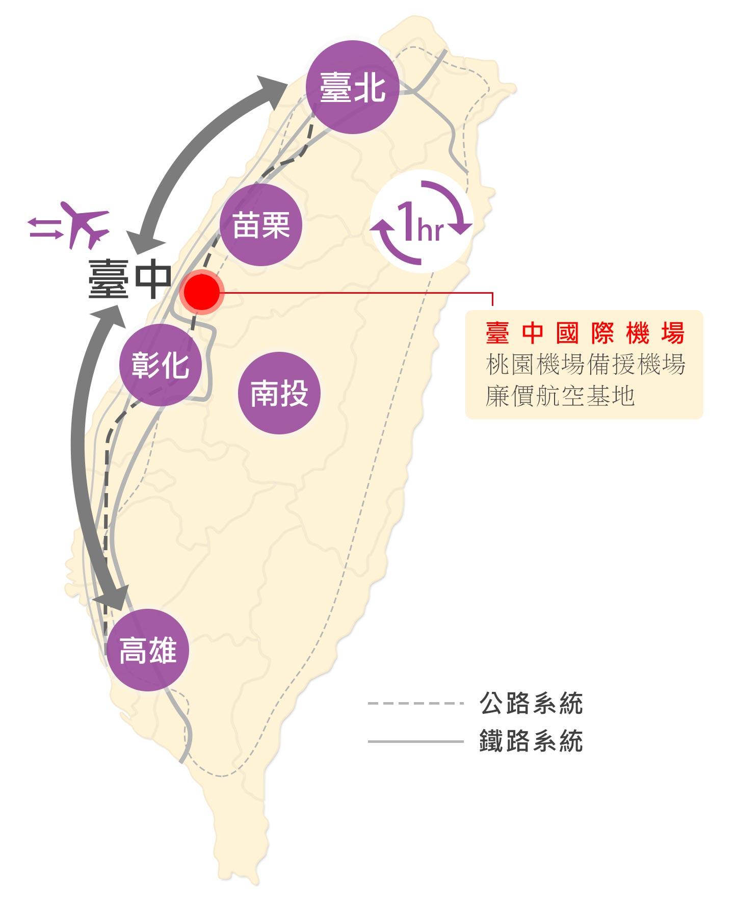 台中國際機場(點圖可放大)
